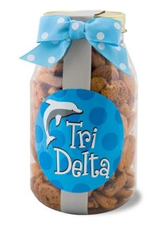 Delta Delta Delta Quart of Cookies www.sassysorority.com