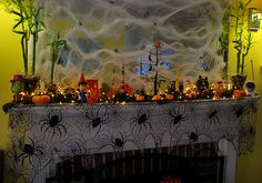 halloween decorated fireplace mantels | Recent Photos The Commons Getty Collection Galleries World Map App ...