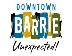 Visit downtown Barrie for food, drinks, shopping and more!