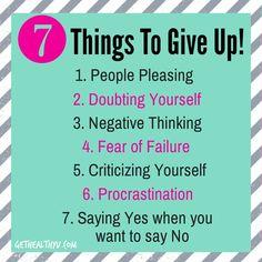 Give It Up! - Get Healthy U | Chris Freytag !
