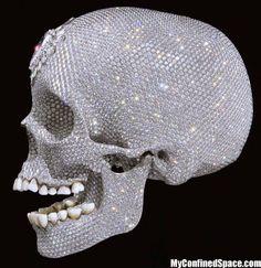 Diamond Skull Awesome Things Art