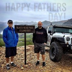 #HappyFathersDay! Did your dad get you hooked Jeeps or was it the other way around?  @brian_jcroffroad will tell you that he had to convince his dad to get a Jeep once Norm moved to Colorado but Norm says there wasn't much convincing involved. Either way #ProjectSwitchback as born in 2014 so he could explore whatever pass he pleased.