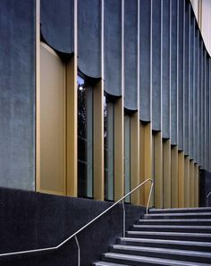 Facade detail Nottingham Contemporary by Caruso St John Architects - Dezeen Detail Architecture, Contemporary Architecture, Interior Architecture, Contemporary Art, Pavilion Architecture, Organic Architecture, Residential Architecture, Amazing Architecture, Interior Design