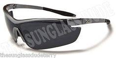 Sunglasses New Sports Designer Shades Wraps X-Loop UV400 Men Women Gray XL06D