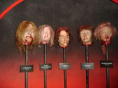 Chamber of Horrors at Madame Tussauds London
