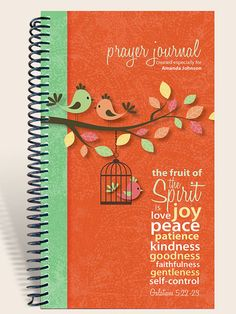 ... It's a great gift idea! Personalized prayer journals by IntegrityGraphics, $14.99