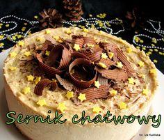 Smaczna Pyza: Sernik sezamowy