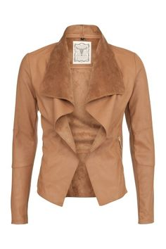 European style turndown collar waterfall jacket fashion . . click on pic to see more