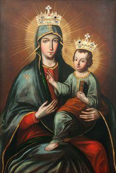 Matka Boża Pocieszenia w Golinie - Obraz Matki Bożej Pocieszenia