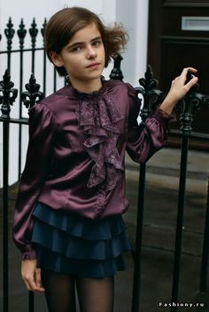 Kids Fashion: Autumn-Winter Clothing by Sisley Young 2018 Beautiful Children, Beautiful Boys, Petticoated Boys, Sissy Boys, Boys Wearing Skirts, Feminized Boys, Transgender Girls, Crossdressers, Cute Girls