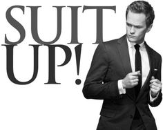 Barney Stinson - Suit up!
