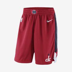 9ea08f2b37d551 Washington Wizards Icon Edition Swingman Men s Nike NBA Shorts Size S  (University Red)