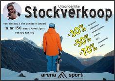 Stockverkoop wintersportmateriaal -- Diest -- 03/01-08/01