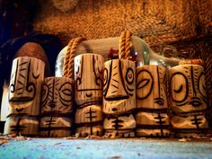 https://flic.kr/p/GX3bKD | However cartoony or wacky my tikis look, they're each based on a traditional tiki. Most are a far stretch while others even more. To me, it was important to know the origins of the South Pacific carvings soon after falling in love with the idea of tikis.