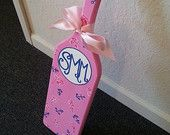Hand Painted Monogram Preppy Sorority Paddle https://www.etsy.com/shop/KraftsbyKristie?ref=pr_shop_more