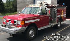1991 Ford Saulsbury mini-pumper for sale. call or text for more information Fire Trucks For Sale, Brush Truck, Wildland Fire, Fire Apparatus, Evening Sandals, Emergency Vehicles, Fire Dept, 4x4, Cars