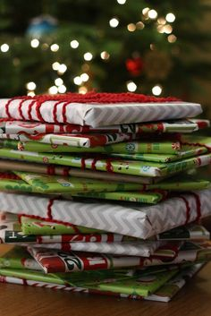 Wrap up twenty-five Christmas children's books and put them under the tree with a special Christmas quilt or blanket next to them. Before bed each evening, your kids choose one book to open and read together until Christmas.
