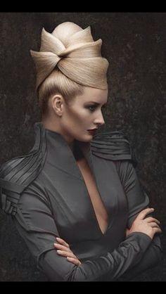 Sharp edges; up do; hive; villain; hair