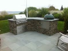 Tranquil Lowes Small Outdoor Kitchen With Big Green Egg | Bar | Pinterest |  Small Outdoor Kitchens, Green Eggs And Egg