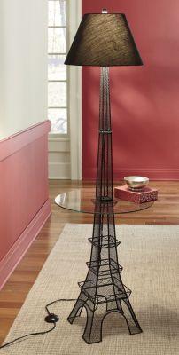 Eiffel Tower floor lamp love love love for my beauty room 😉 Paris Living Rooms, Paris Rooms, Paris Bedroom, Paris Theme Decor, Paris Room Decor, Paris Theme Bathroom, Design Furniture, Plywood Furniture, Eiffel Tower Lamp