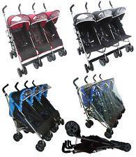 Triple Twin buggies* Triple pushchair from birth*NEW* kidz kargo* RRP £280