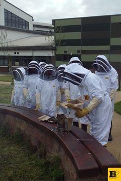 St.Ambrose and Buchanan High School - Plan Bee Ltd. Balfour Beatty has funded 2 beehives as well as beekeeping lessons for St.Ambrose and Buchanan High School and used Plan Bee's services. #planbee #planbeeltd #schoolproject #honeybees #honeybee #beekeeping #beekeepingclub #honeycomb #beehive #greenlegacy #community #scotland #uk #honey