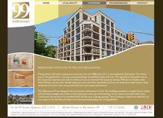 Millennium99 Website - Home
