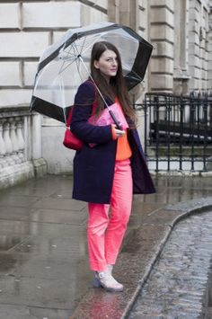 Fashion inspiration: What to wear when it's raining?