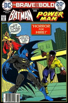 Super-Team Family: The Lost Issues!: Batman and Power Man
