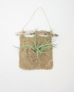 Woven Plant Pocket - magpieandrye