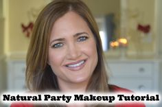 Natural Party Makeup Tutorial | Blue Eyes | Cate Trunnell
