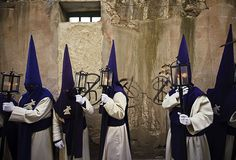 Zamora Spain Penitents