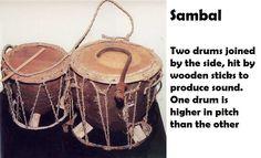 Sambal- folk drum of Maharashtra.