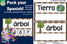 ABC and 123: Bilingual Wednesdays- Día de la tierra