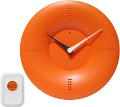 Infinity Instruments Doorbell Clock Orange ** Continue to the product at the image link.