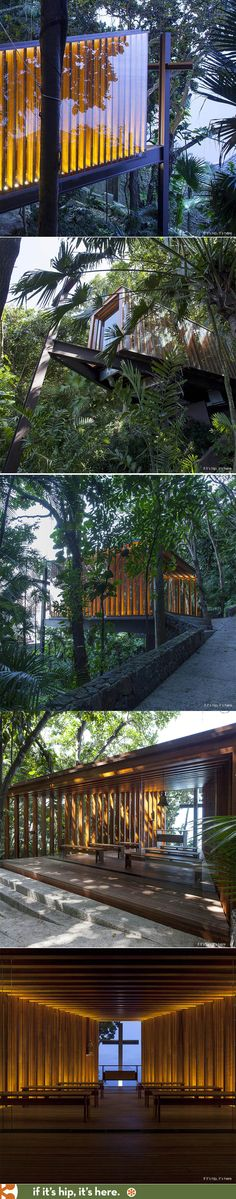 It's like a Tree House for Jesus. | http://www.ifitshipitshere.com/residencial-capela-joa/