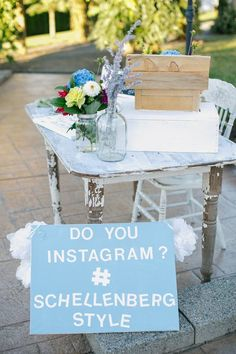 Instagram Wedding Hashtag Sign