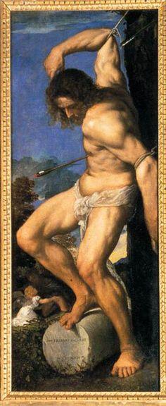 St. Sebastian by Tiziano Vecellio