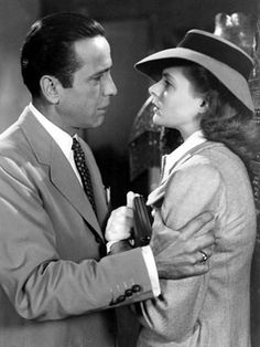 Casablanca 1942     .....rh Romantic Movie Scenes, Best Romantic Movies, Hollywood Stars, Classic Hollywood, Hollywood Icons, Hollywood Glamour, Divas, Bogie And Bacall, Swedish Actresses