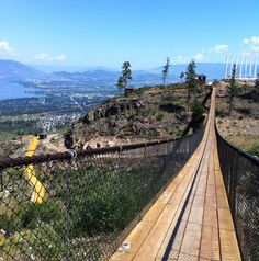 Kelowna Mountain suspension bridges opened to the public this summer, advertised as North America