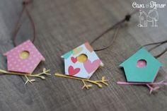 Passarinho Bird Crafts, Craft Stick Crafts, Preschool Crafts, Easter Crafts, Diy And Crafts, Bird Birthday Parties, Diy Birthday, Birthday Decorations, Diy For Kids