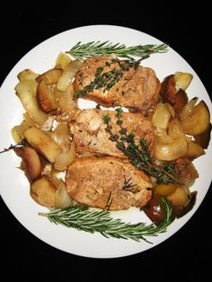 Pork Loin and Apples - In Crockpot