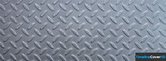 Stainless Steel Diamond Tread Pattern Facebook Cover Timeline Banner For Fb Facebook Cover