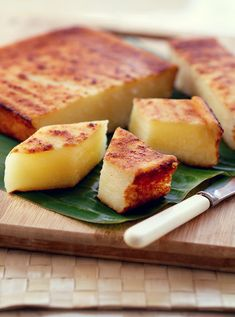 Also known as baked tapioca cake, this traditional kuih bingka ubi is easy to whip up and super delicious