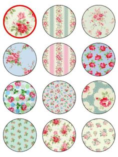 "12 x 2.13"" round edible icing cake toppers in Crafts, Cake Decorating 