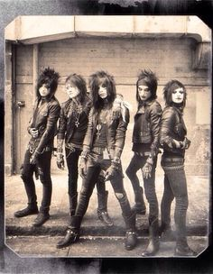 Black Veil Brides ~If you want to join this board, put 'add me' in the comments and I'll add you... But you must be following me! :)