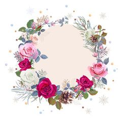 Ten Moments To Remember From Rose Store Hours Baby Food Jar Crafts, Red And Pink Roses, Framed Wallpaper, Flower Phone Wallpaper, Pine Branch, Rose Of Sharon, Frame Wreath, Background Vintage, Flower Frame