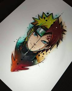 Hello guys, another top illustration for you, comment what character you are . Naruto Gaara, Anime Naruto, Naruto Comic, Naruto Shippuden Anime, Boruto, Itachi, Kakashi Drawing, Naruto Drawings, Cute Drawings
