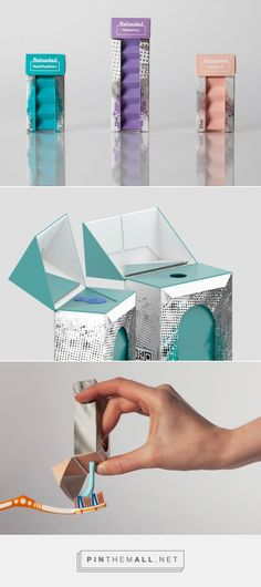 Reloaded - was created for entry into Recreate Packaging 2014. The challenge was to recreate travel packaging using renewable fibre-based materials from Stora Enso.