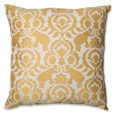 Pillow Perfect Babar Topaz Throw Pillow - 5563